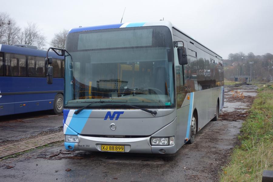 Umove 392/XJ88899 på Gammelhavn i Vejle den 24. november 2018
