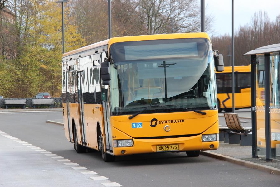 Tide Bus 8600/XK95775 på Kolding Busterminal den 20. november 2018