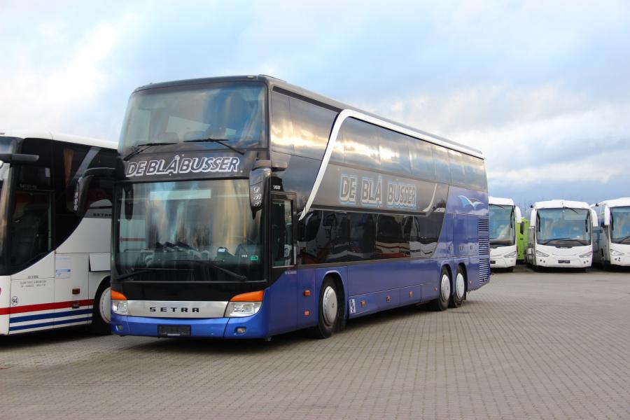 Ex. De Blå Busser ved Vejstruprød Busimport i Christiansfeld den 20. november 2018