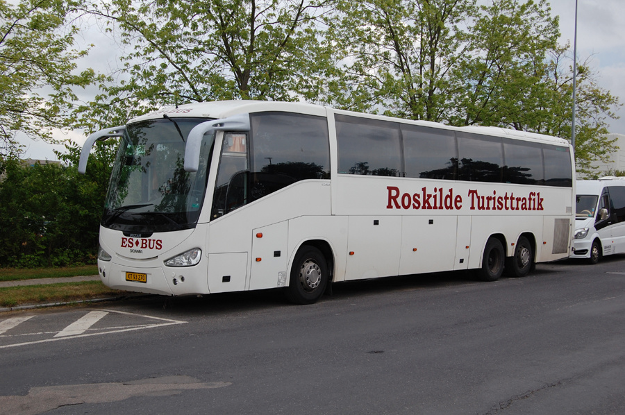 ES Bus XT93270 på Betonvej i Roskilde den 16. juni 2016