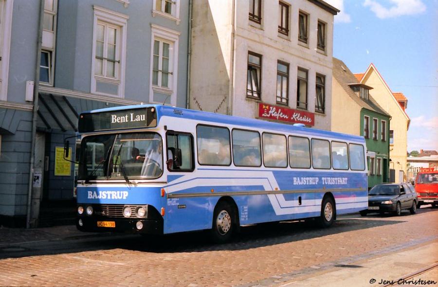 Bajstrup Rejser 15/JC94138 på Schiffbrücke i Flensburg den 22. oktober 1995
