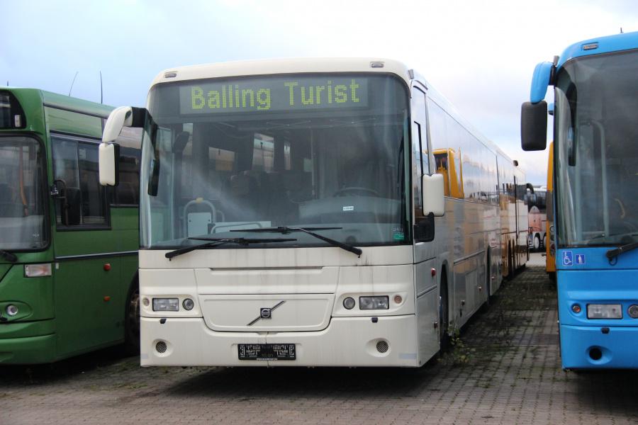 Ex. Balling Turist-Taxi ved Vejstruprød Busimport i Christiansfeld den 20. november 2018