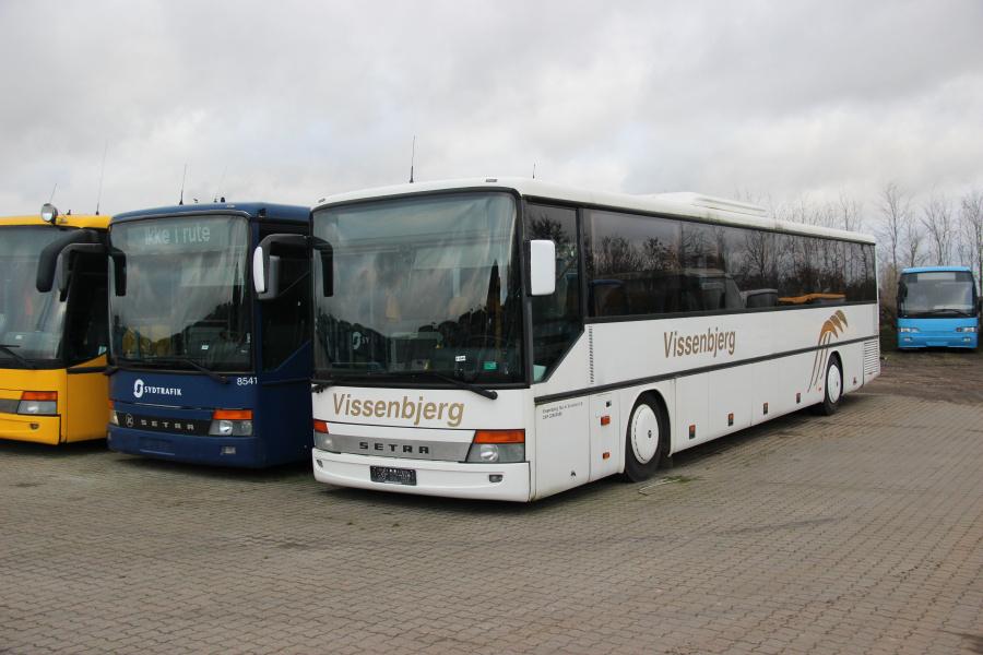 Ex. Vissenbjerg Turistfart ved Vejstruprød Busimport i Christiansfeld den 20. november 2018