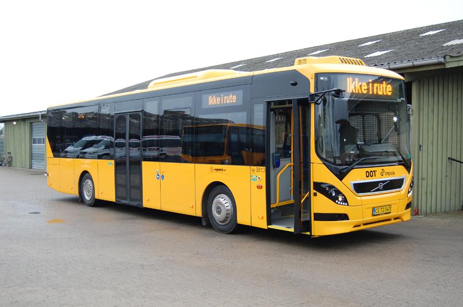 Egons Turist- og Minibusser 3813/CE72047 på Danmarks Busmuseum i Skælskør den 1. december 2018