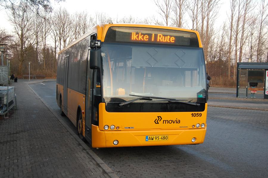Arriva 1059/AW95480 ved Solrød Strand Station den 19. december 2011