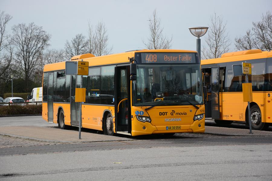 Arriva 1210/AR30054 ved Ringsted Station den 1. april 2017