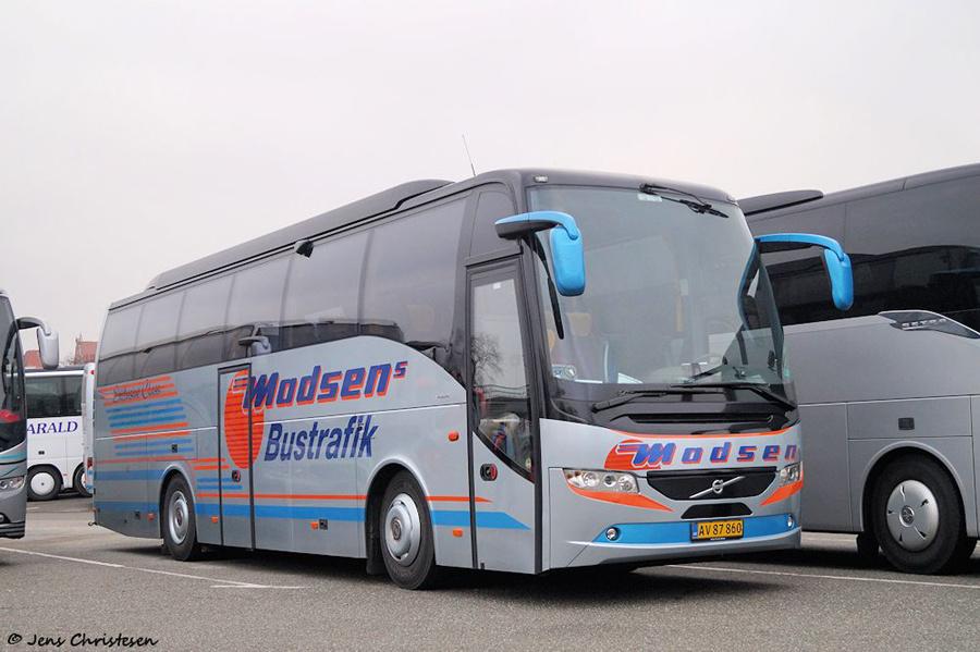 Madsens Bustrafik AV87860 ved MUK i Lübeck i Tyskland den 1. december 2018