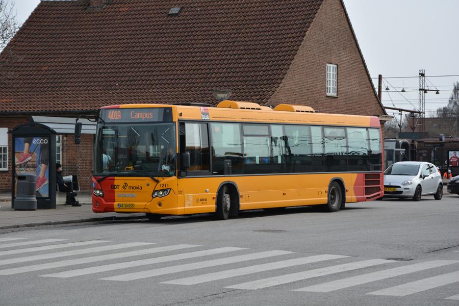 Arriva 1211/AR30055 ved Ringsted Station den 1. april 2017