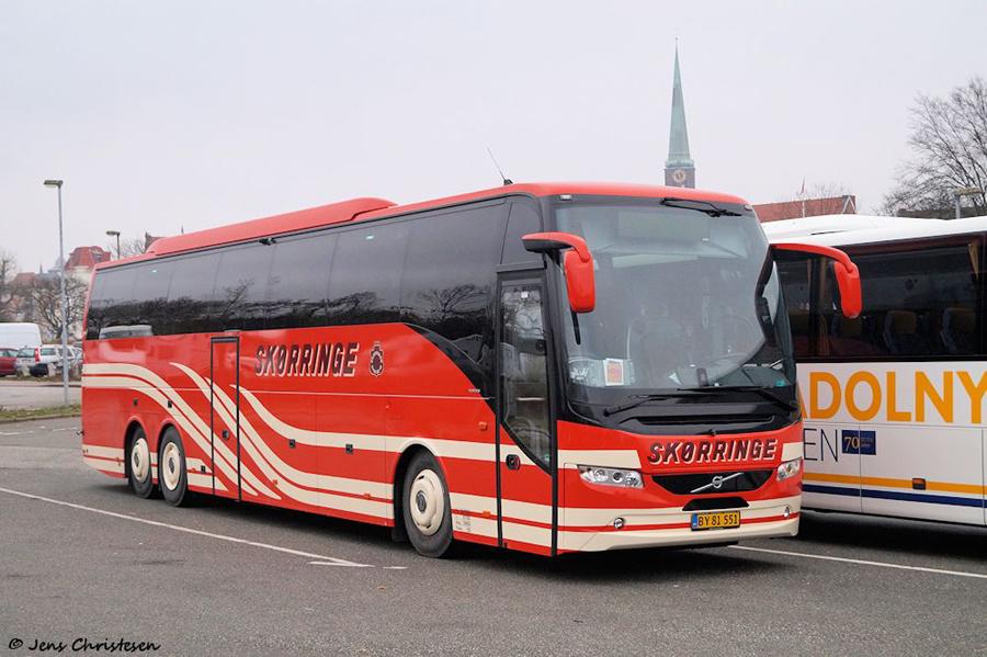 Skørringe Turistbusser BY81551 ved MUK i Lübeck i Tyskland den 1. december 2018