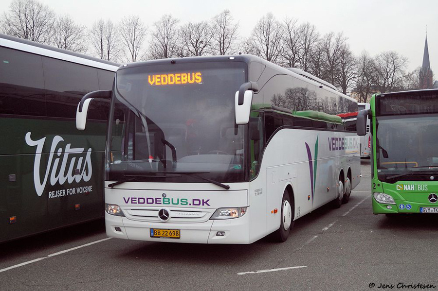 Vedde Turistfart 13/BB22698 ved MUK i Lübeck i Tyskland den 1. december 2018