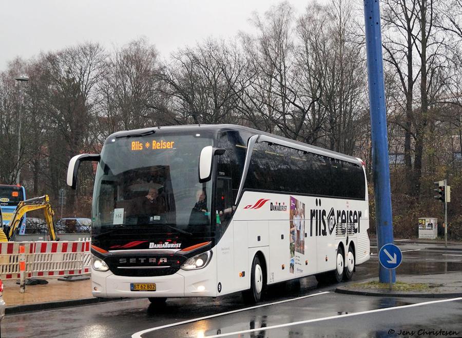 Dania Turist 9/BT62802 i Flensburg i Tyskland den 8. december 2018