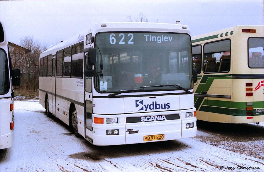 Bajstrup Rejser 35/PB91220 i Tinglev i marts 2005