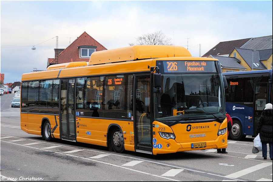 Umove 723/BA94873 på Sønderborg Busstation den 12. december 2018