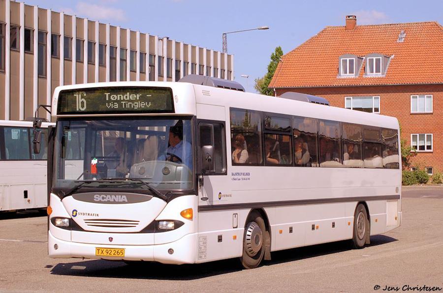 Bajstrup Rejser 35/TX92265 på Aabenraa Rutebilstation den 23. maj 2008