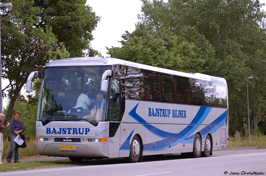 Bajstrup Rejser 5/RN93361 i Oeversee i Tyskland den 17. juni 2008