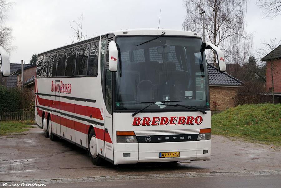 Bingo Rejser AX32743 på Exe i Flensburg i Tyskland den 13. december 2018