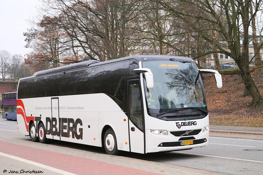 Todbjerg Busser 7/BX97650 på Helgoländer Allee i Hamburg i Tyskland den 15. december 2018