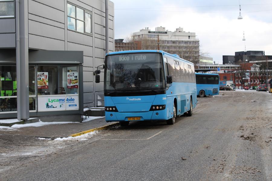 Arriva 2895/TT90162 på Aarhus Rutebilstation den 28. februar 2018