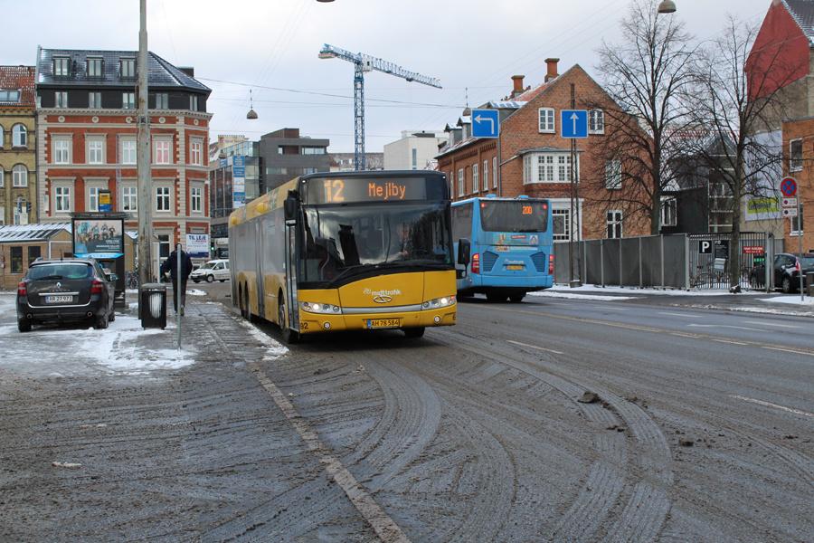 Århus Sporveje 692/AH78584 på Sønder Allé i Aarhus den 28. februar 2018
