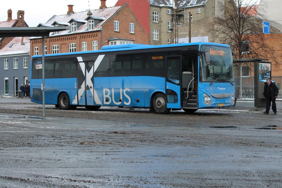 De Grønne Busser 11/AW78486 på Aarhus Rutebilstation den 28. februar 2018