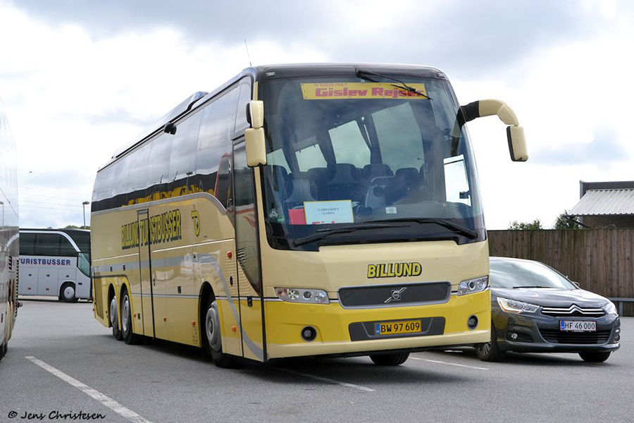 Billund Turistbusser BW97609 i Harrislee i Tyskland den 8. september 2012