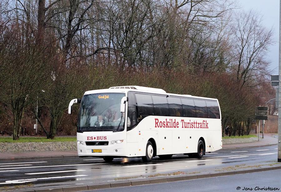 ES Bus BJ57767 på Süderhofenden i Flensburg i Tyskland den 8. december 2018