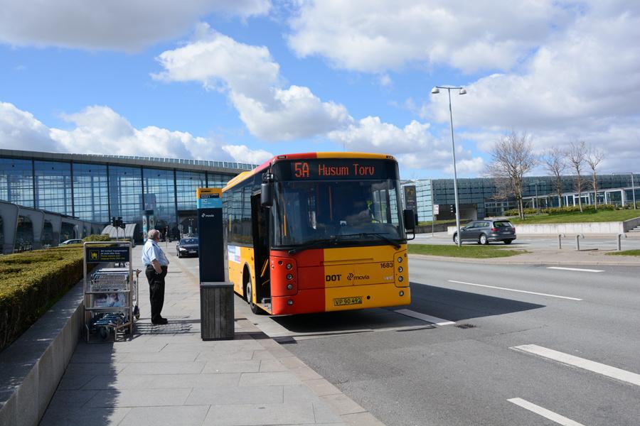 Arriva 1683/VP90492 i Københavns Lufthavn den 22. april 2017