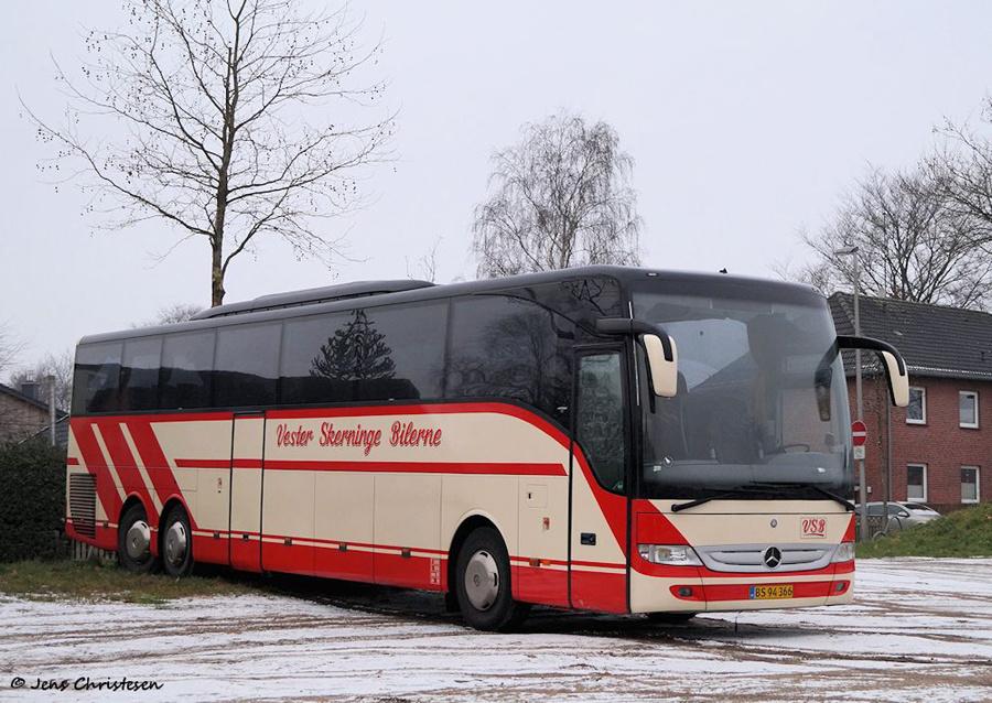 Vester Skerninge Bilerne BS94366 på Exe i Flensburg i Tyskland den 17. december 2018