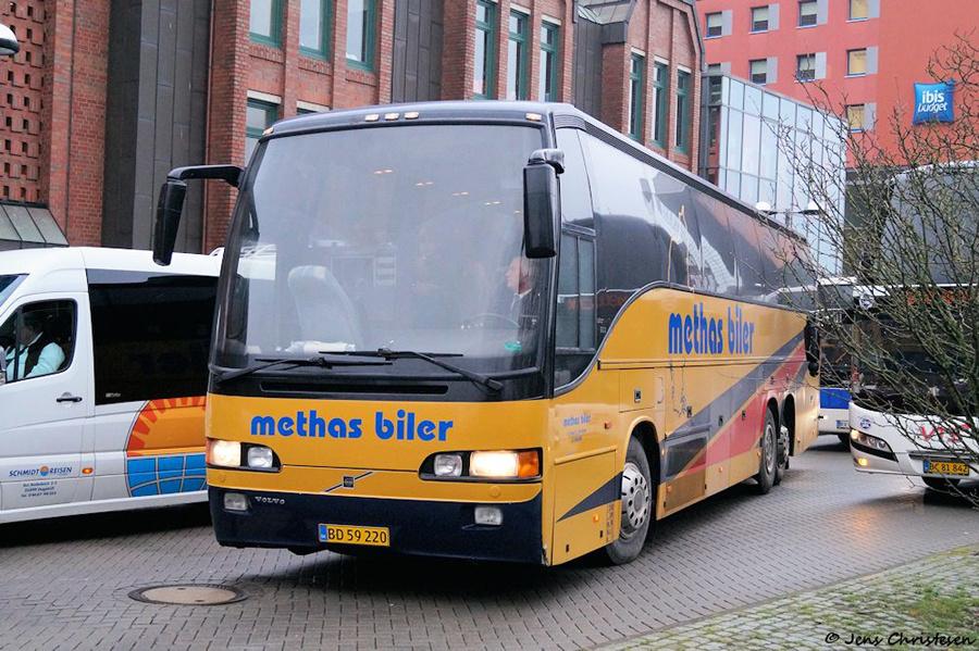 Methas Biler BD59220 ved ZOB i Flensburg i Tyskland den 18. december 2018