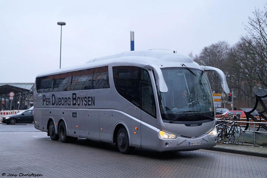 Pers Køreskole AW61804 ved ZOB i Flensburg i Tyskland den 18. december 2018