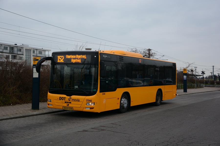 Keolis 2546/XK97238 ved Måløv Station den 17. december 2018