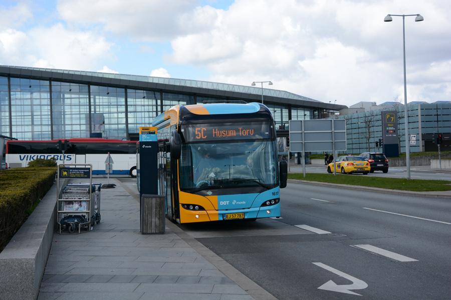 Arriva 1617/BJ57787 ved Københavns Lufthavn den 23. april 2017