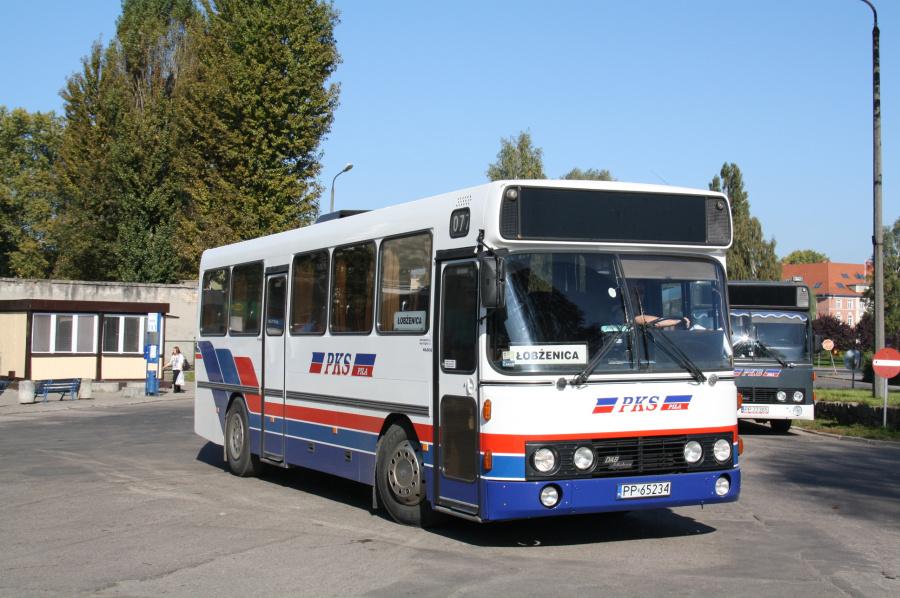 PKS Pila 00077/PP65234 i Pila i Polen den 1. oktober 2011