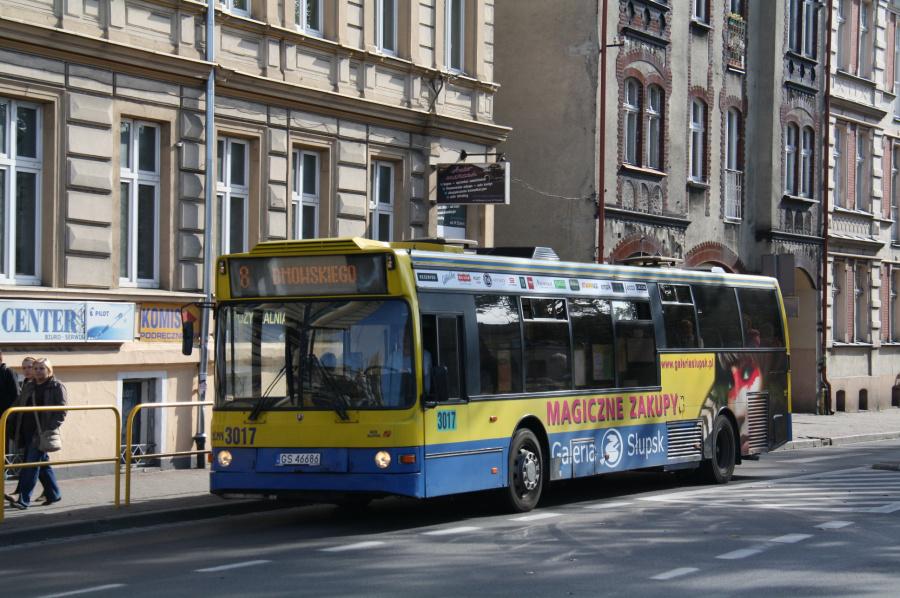 MZK Slupsk 3017/GS46686 i Slupsk i Polen den 29. september 2011