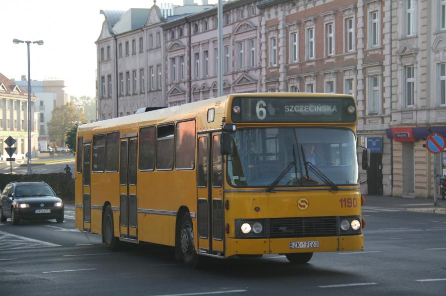 MZK Koszalin 1190/ZK19063 i Koszalin i Polen den 30. september 2011