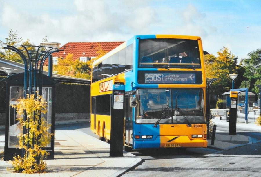 City-Trafik 2809/SB95632 ved Buddinge Station den 6. oktober 2003