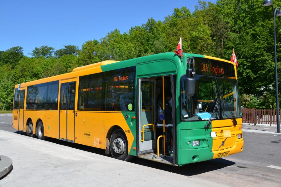 Nobina 6036/XC88246 på Holte Station den 26. maj 2017