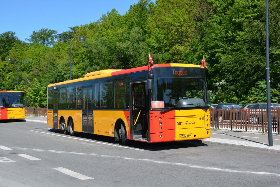 Arriva 1666/VP90289 på Holte Station den 26. maj 2017