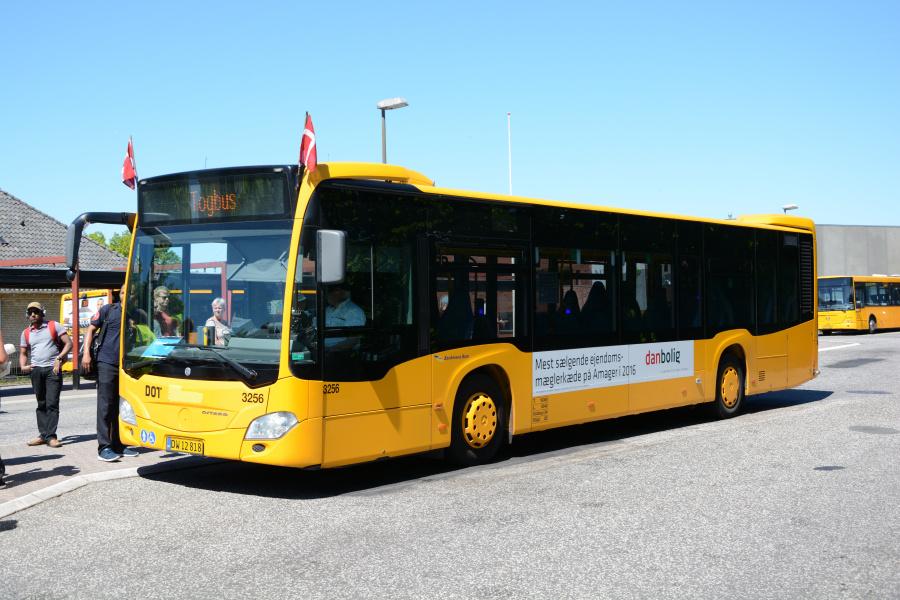 Anchersen 3256/DW12818 på Hillerød Station den 26. maj 2017