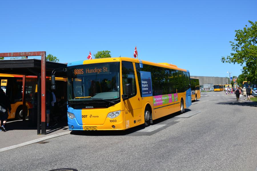 Arriva 1003/AW79256 på Hillerød Station den 26. maj 2017