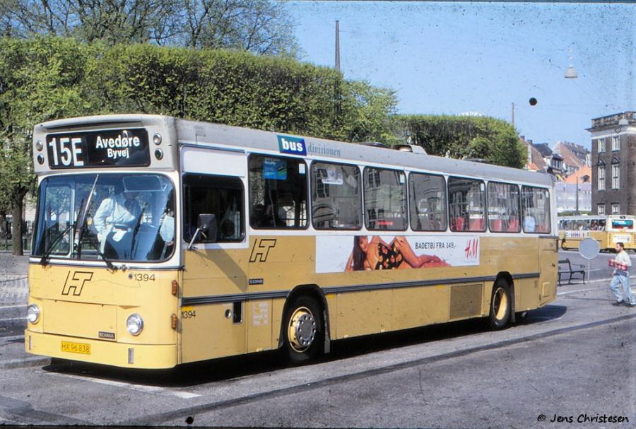 HT 1394/HX96838 på Kgs. Nytorv i København den 29. april 1993