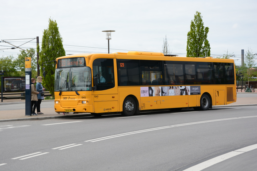 Arriva 1043/XN90788 ved Hedehusene Station den 20. maj 2017