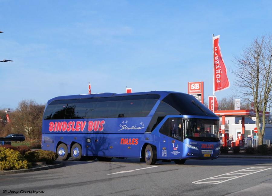 Bindslev Turistbusser AG88291 i Harrislee i Tyskland den 30. december 2018