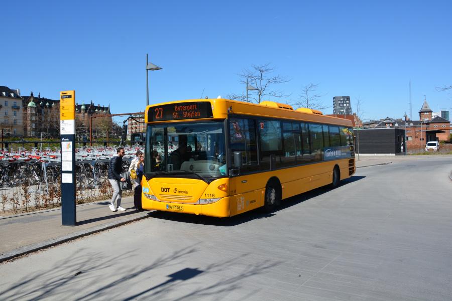 Arriva 1116/BW90016 ved Østerport Station den 30. april 2017