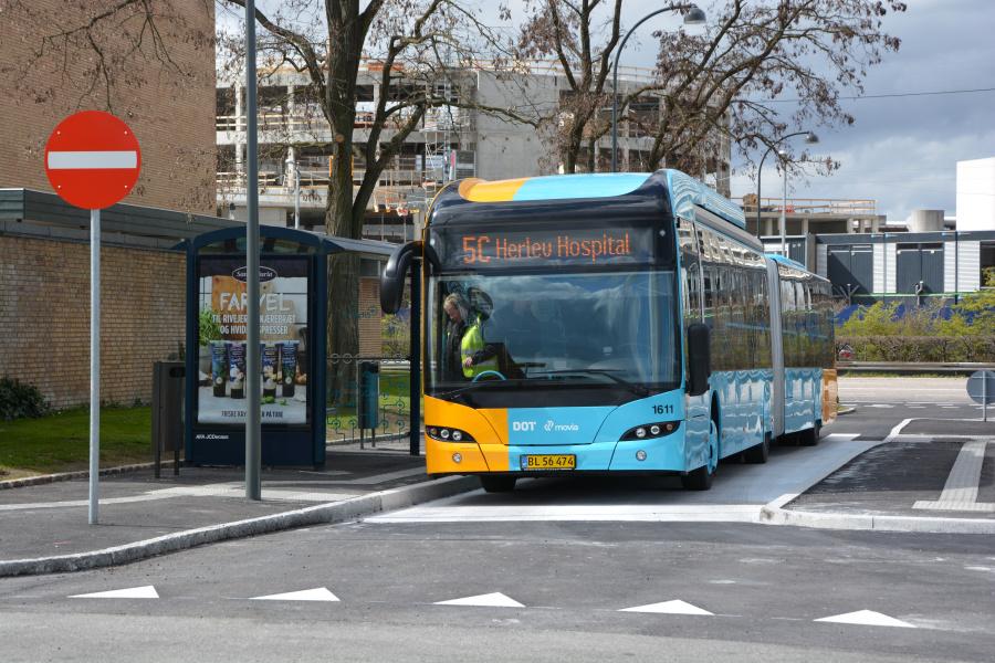 Arriva 1611/BL56474 på Hyldemorsvej i Herlev den 23. april 2017