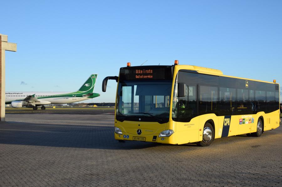 Københavns Lufthavnsvæsen TR83/XS90335 i Københavns Lufthavn Kastrup den 5. januar 2019