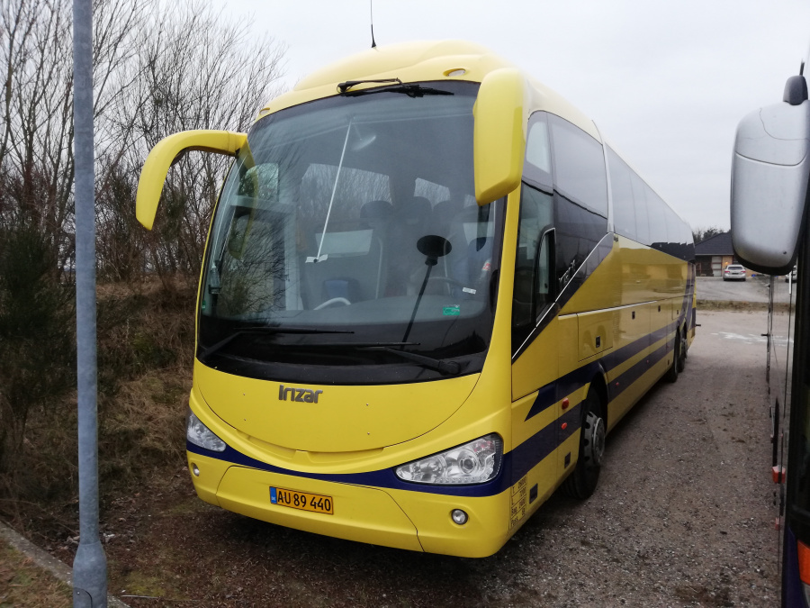 Terndrup Turistbusser AU89440 i Terndrup den 25. januar 2019