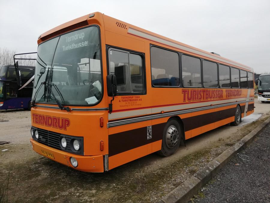 Terndrup Turistbusser 419/NZ93950 i Terndrup den 25. januar 2019