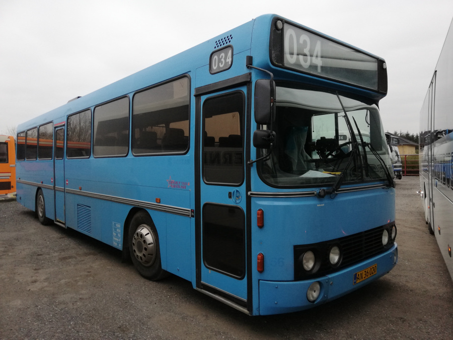 Terndrup Turistbusser AN36020 i Terndrup den 25. januar 2019