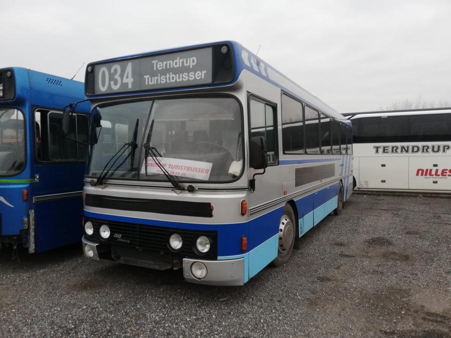 Terndrup Turistbusser AK38028 i Terndrup den 25. januar 2019